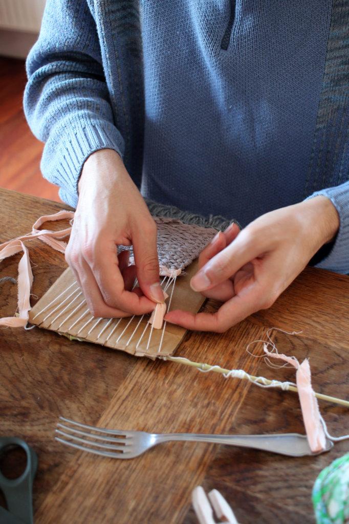 tissage design textile
